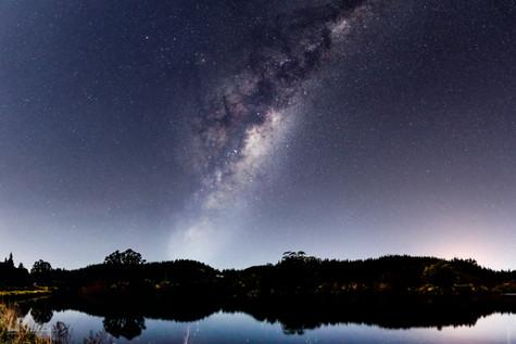 Lake Mangamahoe Milky Way