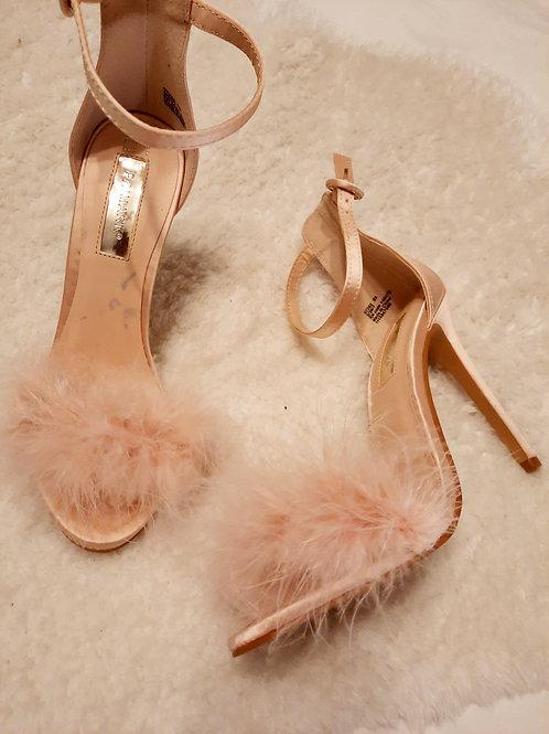 Worn sandals