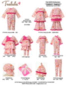 Bonbon Bloom creates line sheets for your business