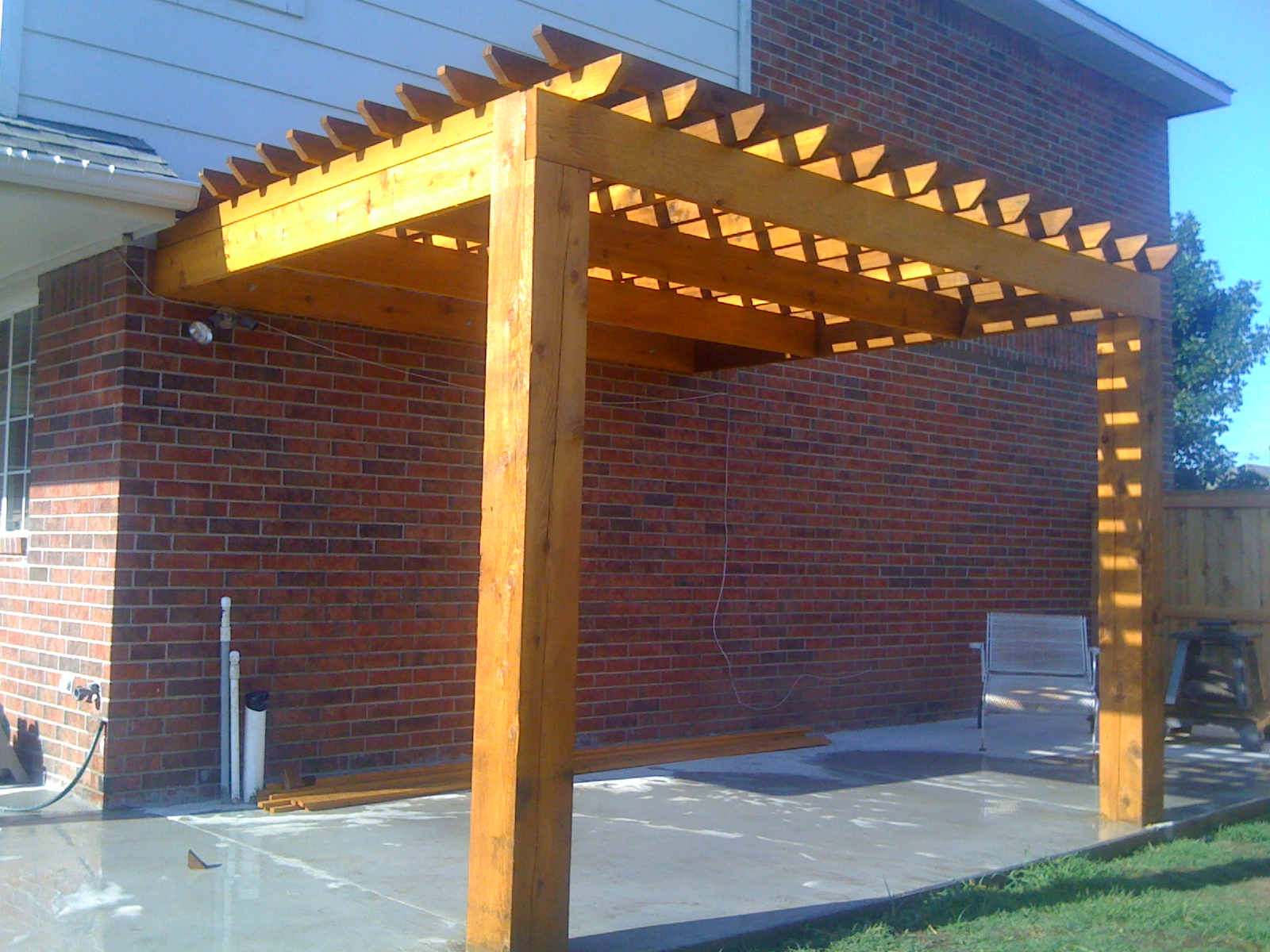 Pergola Construction & Concrete