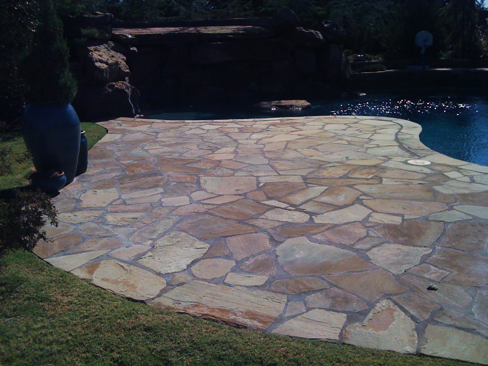 Stone Patio Construction