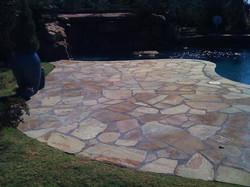 Stone Patio Construction