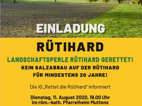Einladung zum Themen-Abend Di 11.08.2020