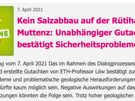 Medienmitteilung Grüne Baselland