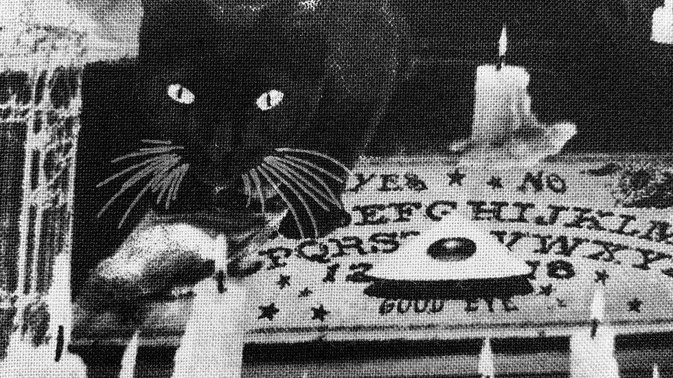 Black Magic Cats fabric