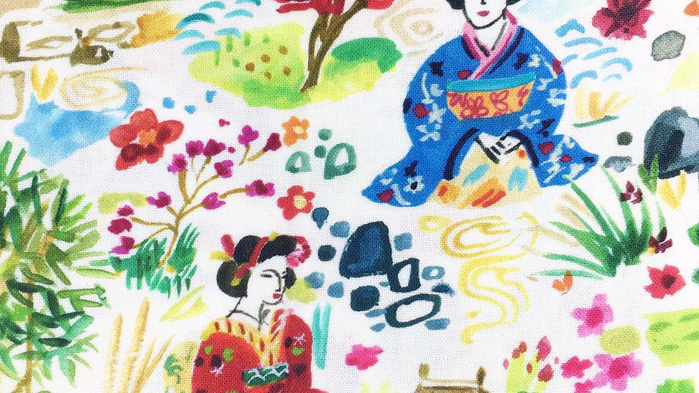Geisha Garden fabric