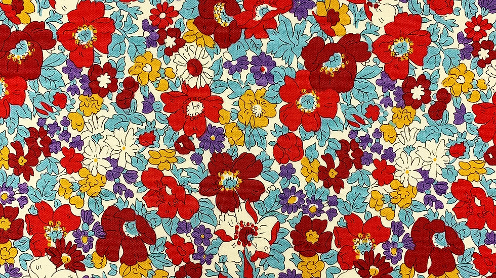 Cosmos Bloom fabric (Winter)