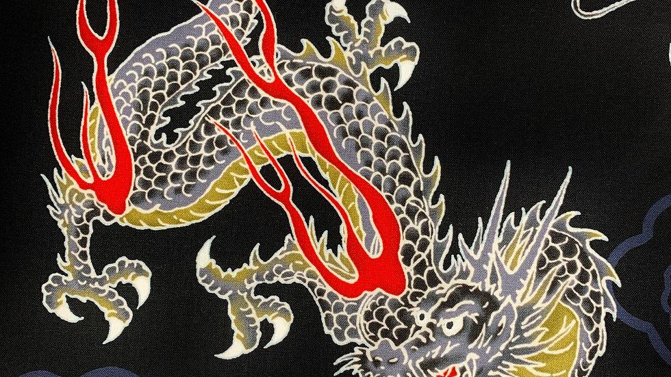 Large Dragons fabric