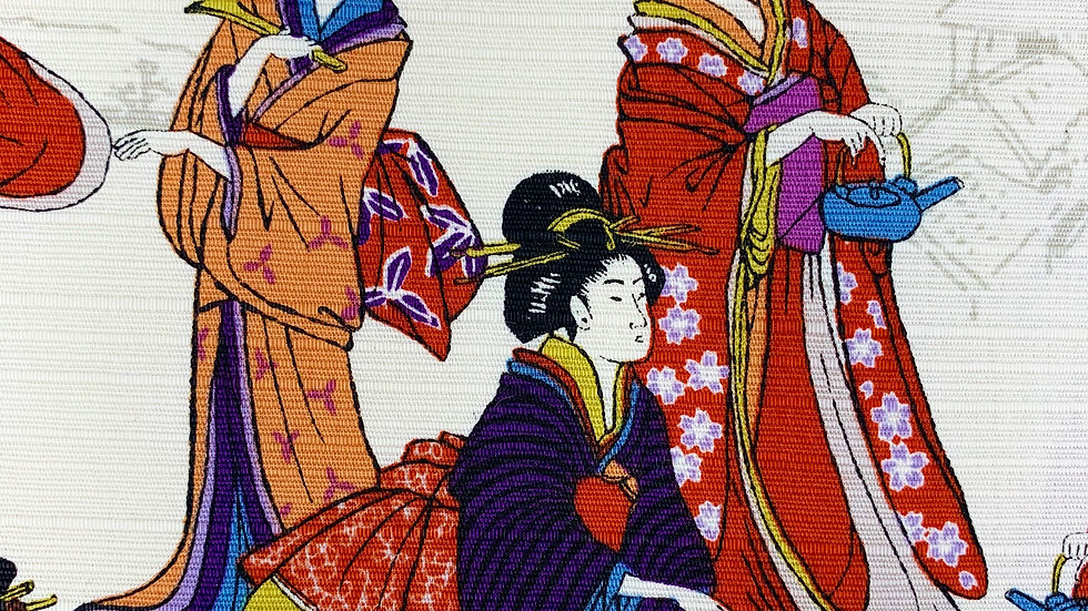 Geisha fabric (ivory)