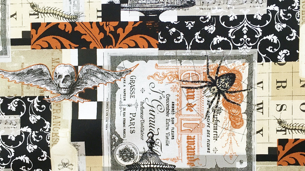 Gothic Scrapbook fabric