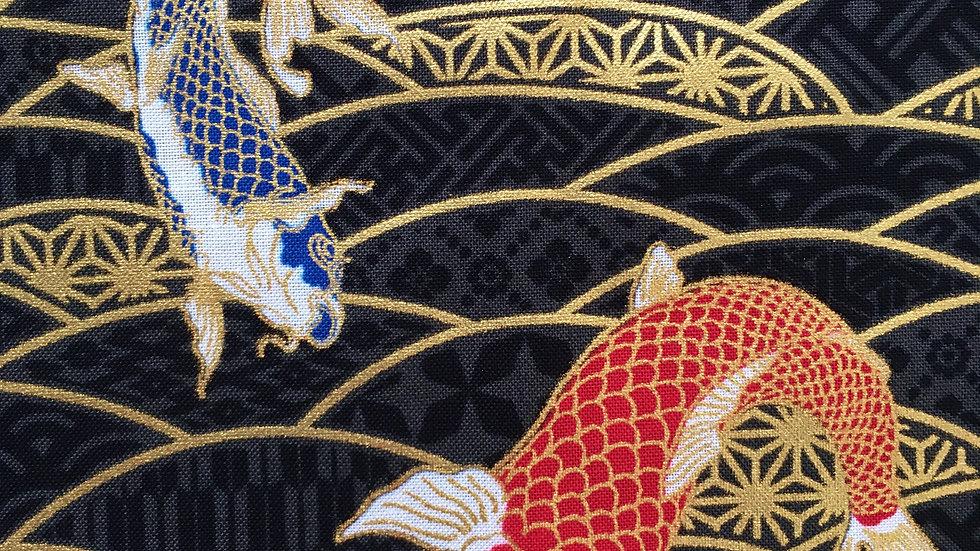 Carp fabric (gold/black)