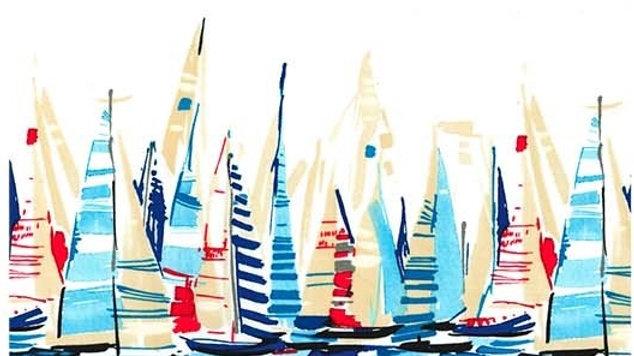 Regatta Border nautical fabric