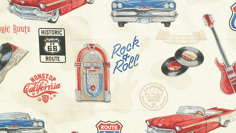 Rock 'n' Roll fabric