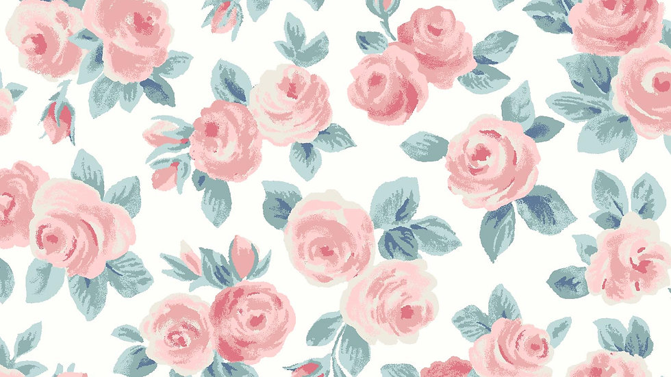 Liberty - Ascot Rose fabric