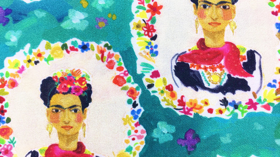 Frida's Flowers fabric