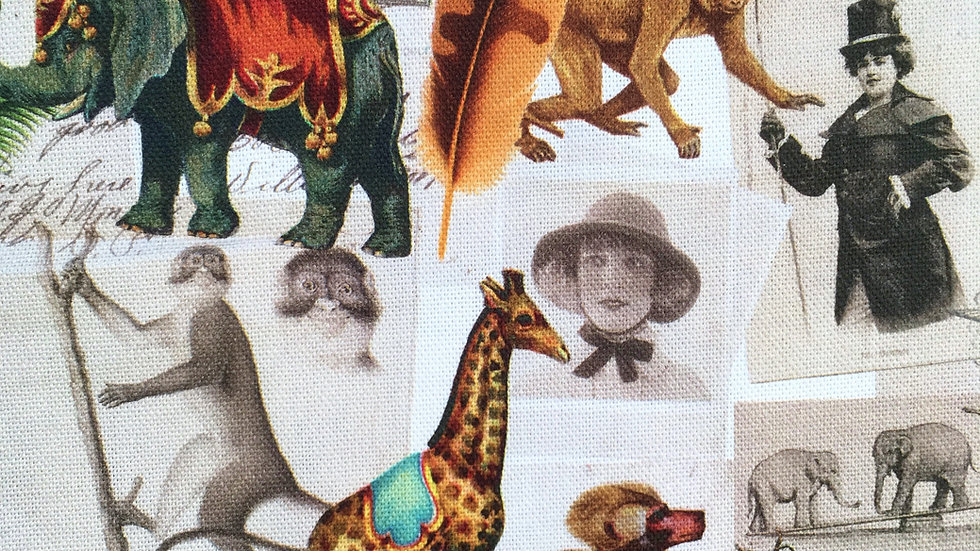 Victorian Safari fabric