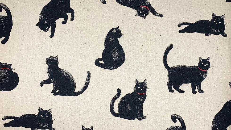 Cats linen/cotton
