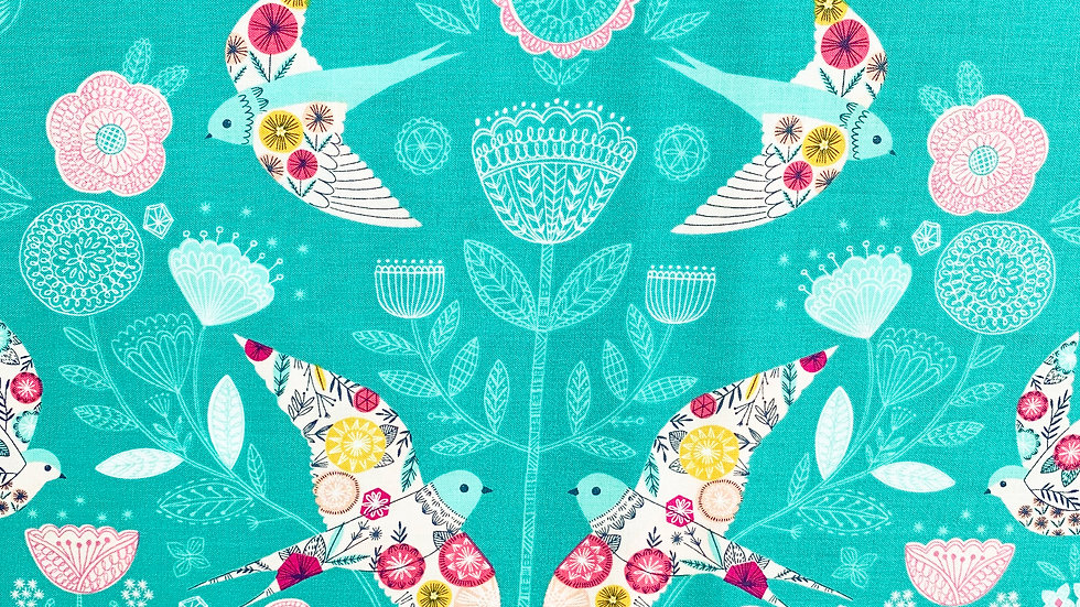 Summer Dance fabric