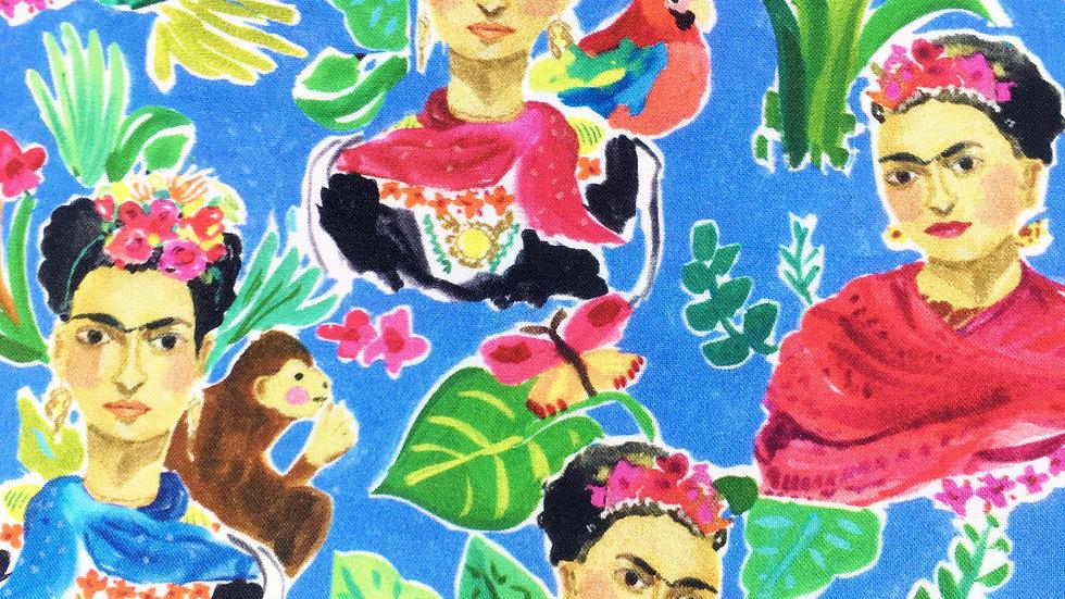 Frida's Mexico fabric