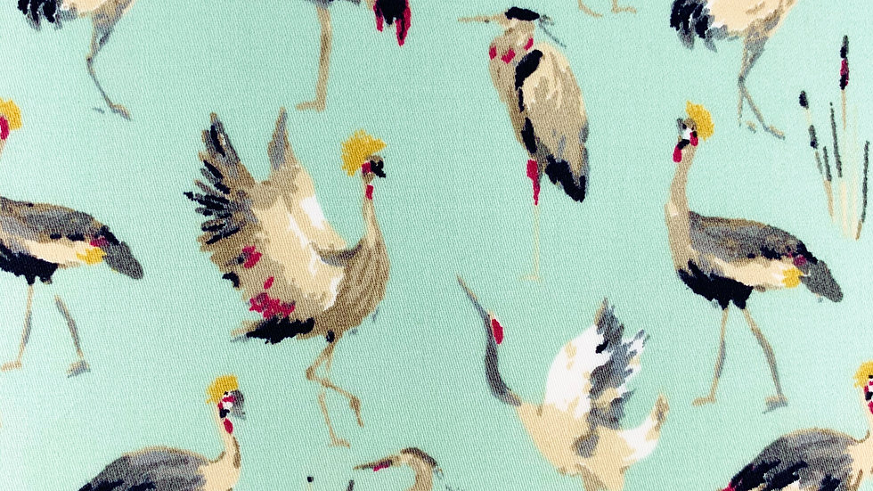 Cranes Herons and Storks fabric