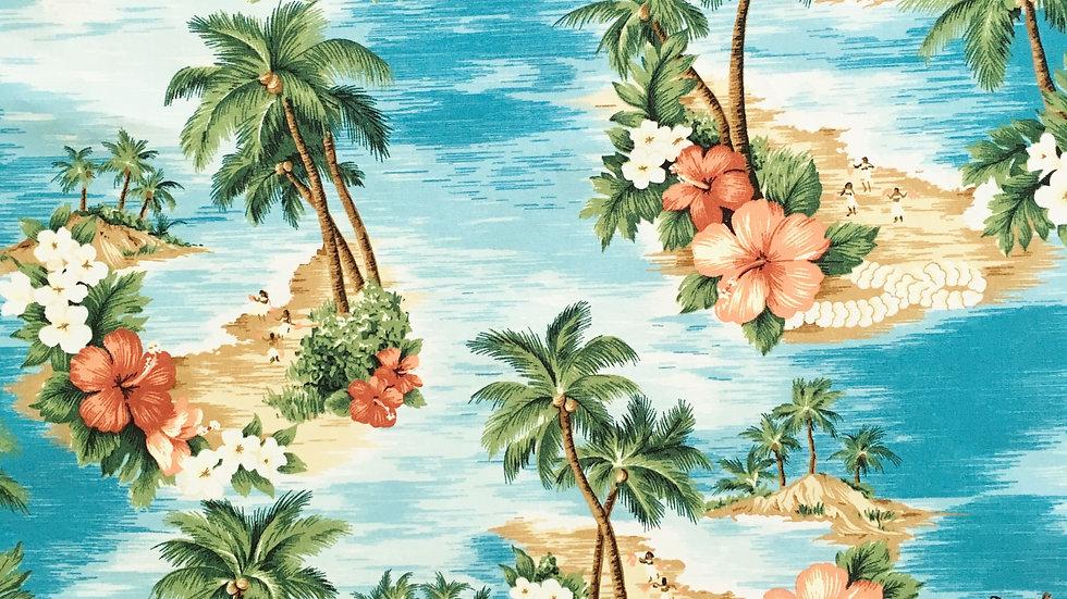 Hawaiian Luau fabric