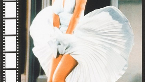 Marilyn Monroe fabric panel