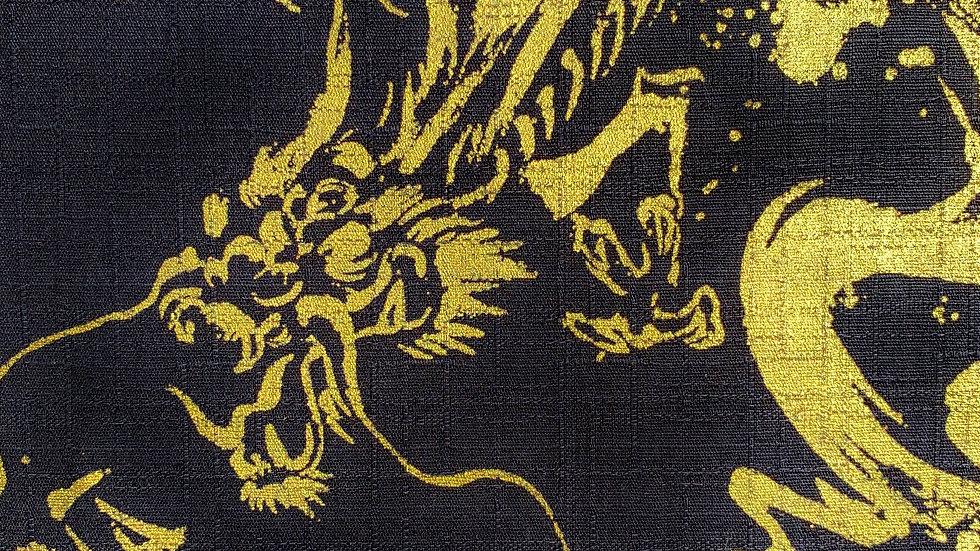 Dragon fabric black/gold)