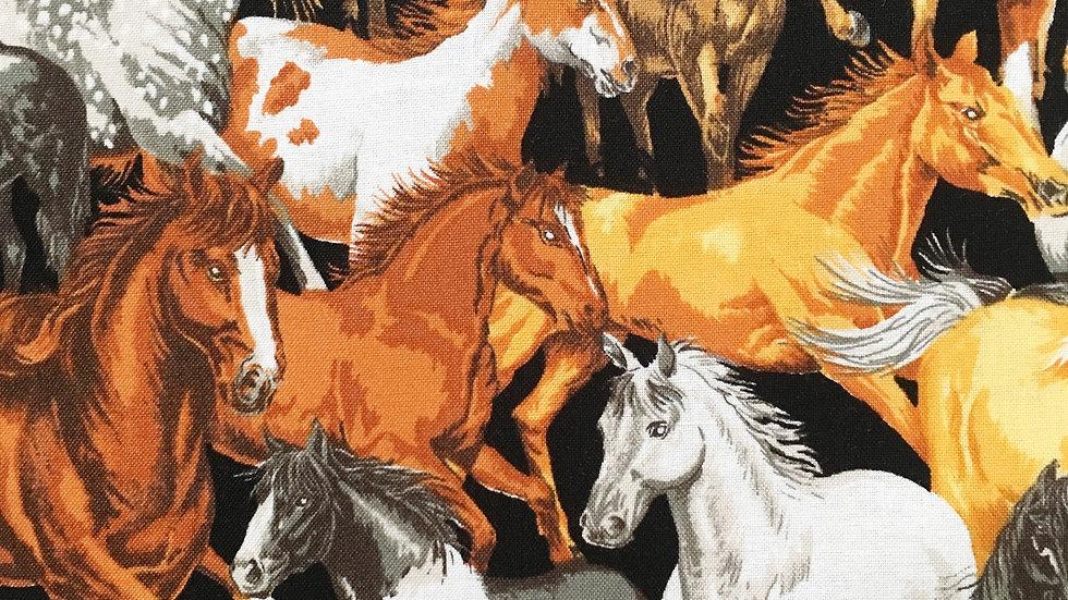 Wild Horses fabric