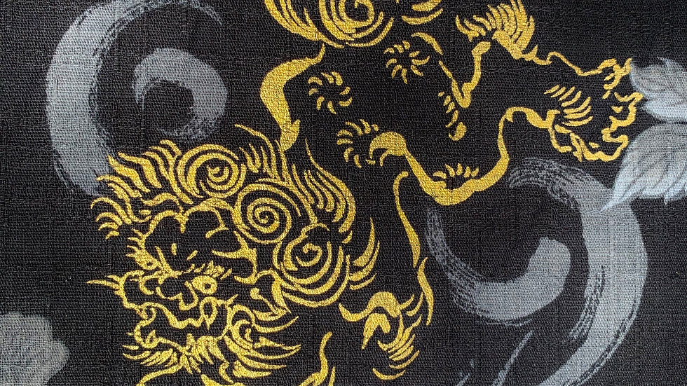 Foo Dog / Lion fabric