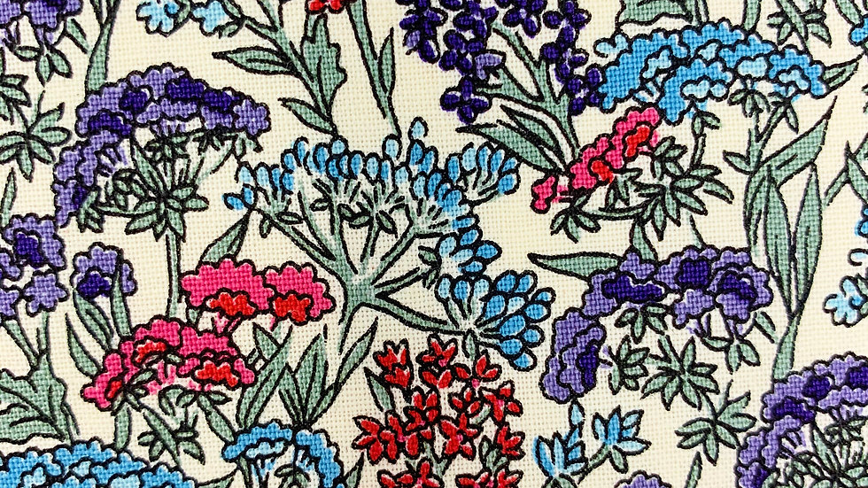 Yorkshire Meadow fabric (Winter version)