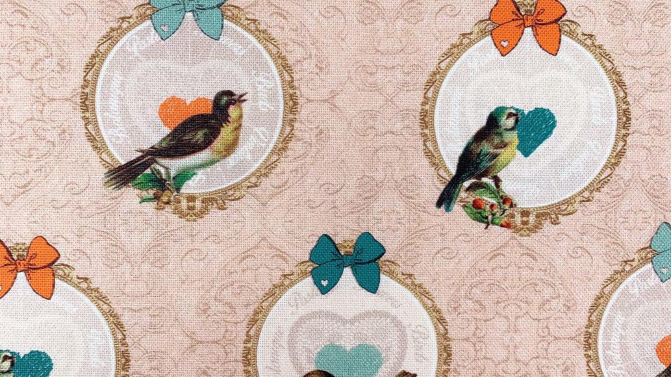 Vintage Birds fabric
