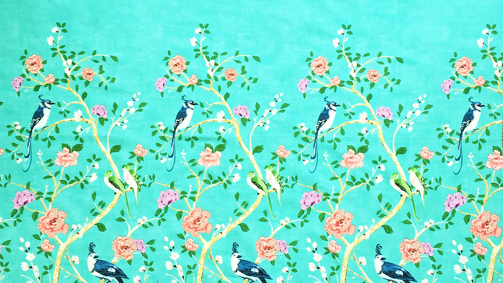 Chinoiserie Border fabric