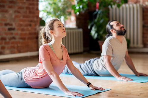 Couple's Private Yoga Class Gift Certificate