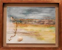 'The Drift'  mixed media on canvas 51cm x 41cm