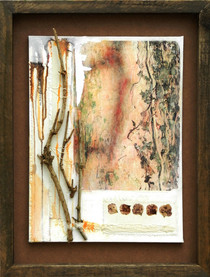 Hedera    (sold)  mixed media on canvas 53cm x 41cm