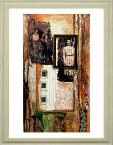 Speaking Silence of Dream    (sold)  40cm x 33cm