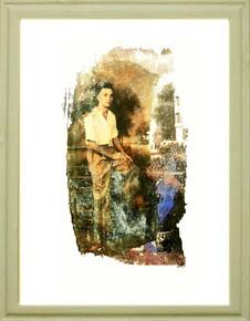 Burma.....love from  40cm x 33cm