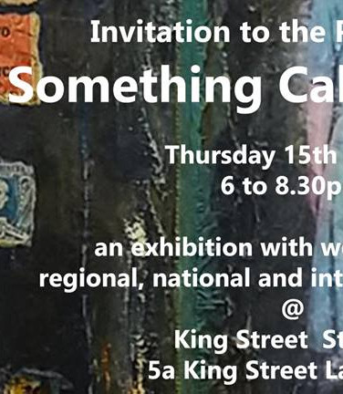 Promotion material for Kings Street Gallery exhibition