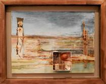 Ocean Rest  mixed media on canvas 51cm x 41cm
