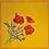 Thumbnail: French Napkin Cotton Yellow Poppy