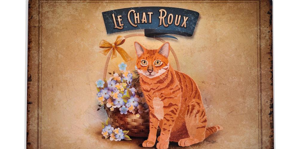 Orange Cat Laminated Placemat