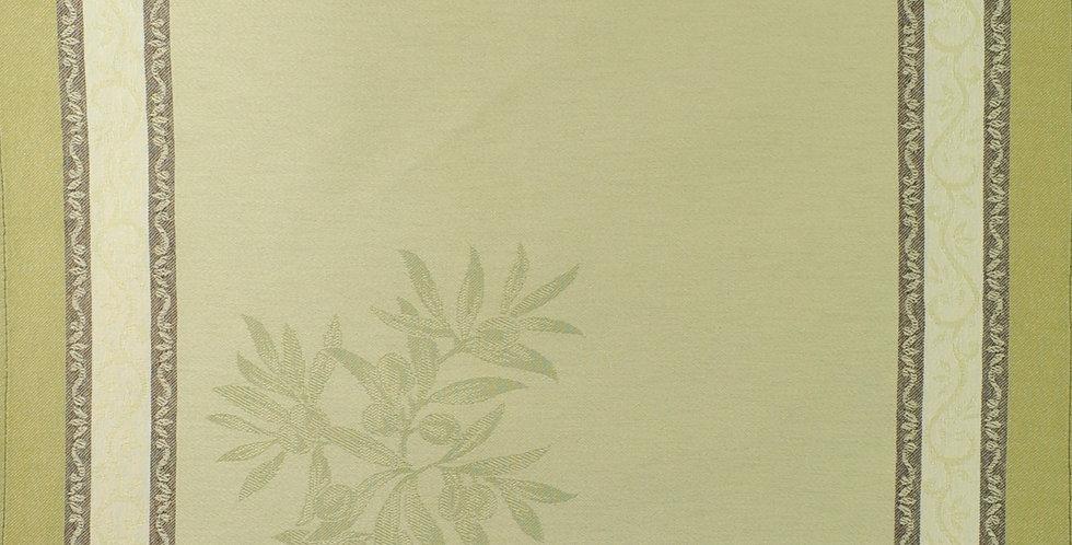 Green Olive Jacquard Woven Napkin