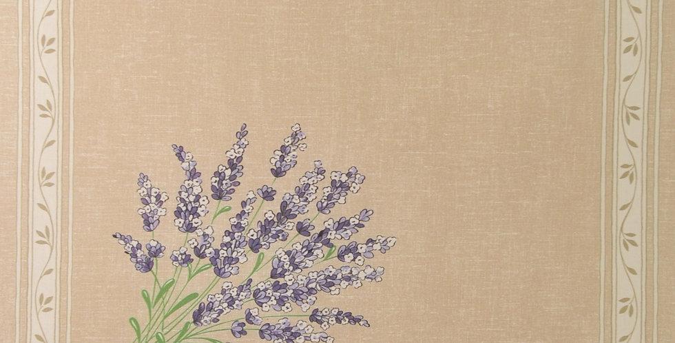 Beige Valensole Printed Cotton Napkin