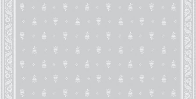 Light Grey Durance Jacquard Woven Napkin