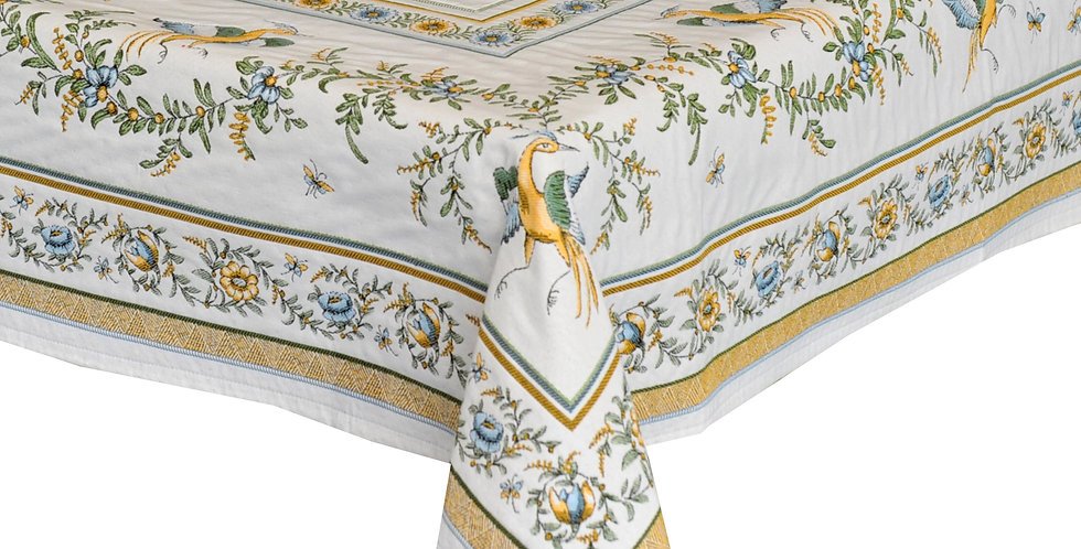 Moustiers Jacquard Tapestry Tablecloth