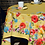 "Thumbnail: Yellow Poppies Coated 60"" x 100"" Tablecloth & 8 Napkins Set"