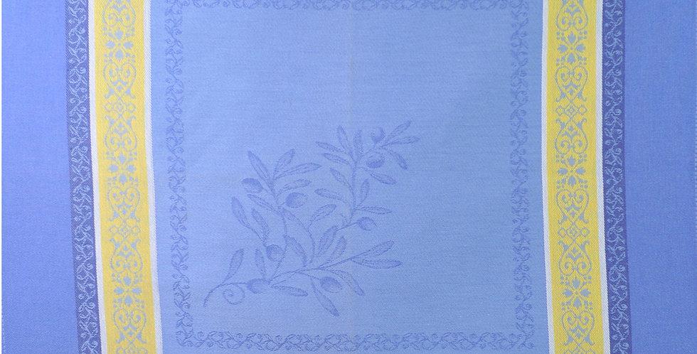 Blue/Yellow Olivia Jacquard Woven Napkin