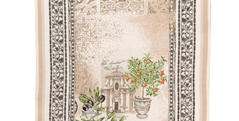 Riviera Jacquard Tapestry Table Runner