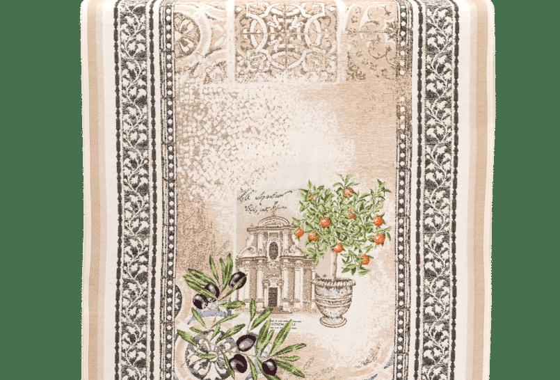 Riviera Jacquard Tapestry Table Runner