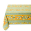 Thumbnail: French Tablecloth Coated Striped Green Citron